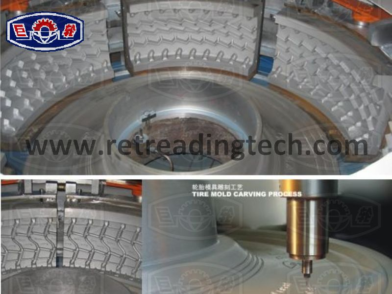 hot retreading molds