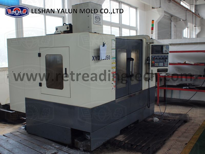 CNC machine for producing pre-cured mold